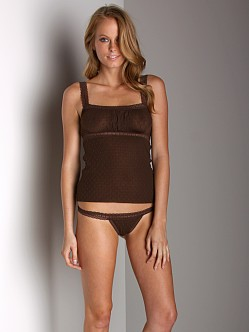 Itty Bitty Bra Thong Chocolate