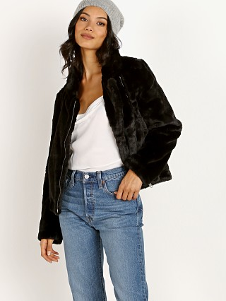 APPARIS Tukio Faux Fur Jacket Black