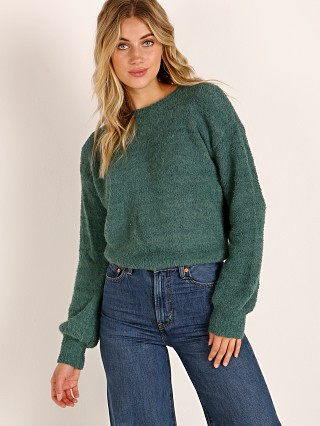 Brixton Maiden Sweater Emerald