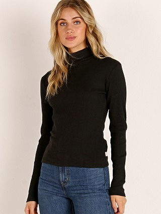 Brixton Ashley Long Sleeve Turtleneck Black