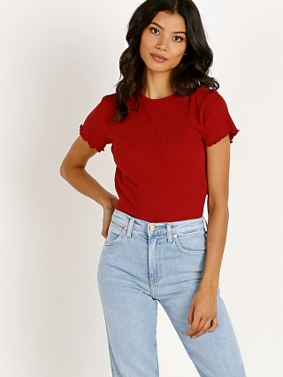 Complete the look: Brixton Jennifer Short Sleeve Baby Tee Cardinal
