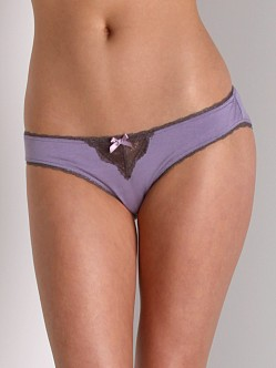 Fleur't A Brief Affair Lace Back Bikini Amethyst