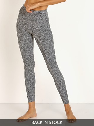 Beyond Yoga High Waist Midi Legging Black White Spacedye