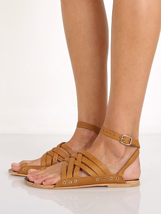 Free People Belize Strappy Sandal Tan