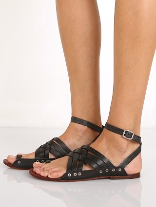 Free People Belize Strappy Sandal Black