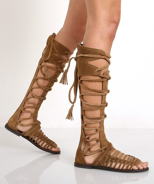 25733da20c4 Free People Sun Seeker Tall Sandal Honey Whiskey OB468831 - Free Shipping  at Largo Drive