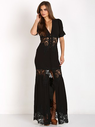 Stone Cold Fox Octavia Gown Black