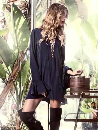 Stone Cold Fox Franklin Dress Navy