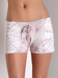 Wendy Glez Mia Lounge Drawstring Shorts Rose