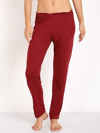 Complete the look: Eberjey Estelle Slim Pant Merlot