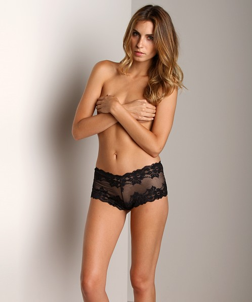 Montelle Intimates Cheeky Boyshort Black