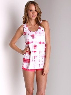 Maxey Cotton Modal Tunic Tank Rose