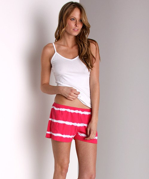 Maxey Cotton Modal Shorts Rose