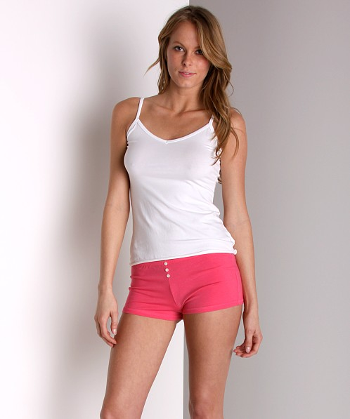 Maxey Supima Cotton/Spandex Tank White