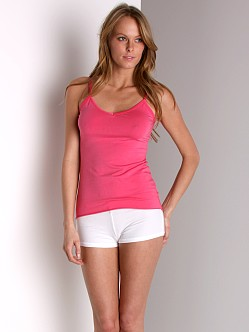 Maxey Supima Cotton/Spandex Tank Rose