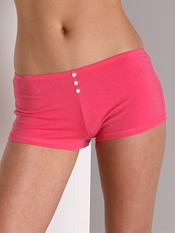 Maxey Supima Cotton/Spandex Shorts Rose