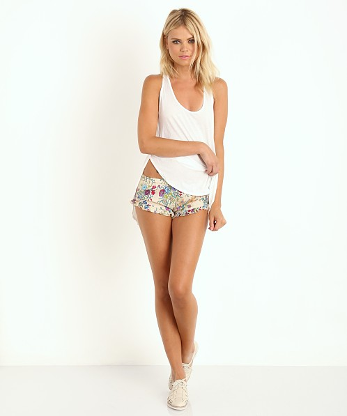 Spell Gypsy Queen Barbarella  Short Cream Floral