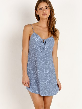 Auguste the Label Florence Tie Slip Mini Dress Blue