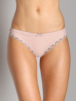 Cosabella Dorothy Low Rise Thong Blush