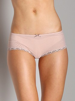 Cosabella Dorothy Low Rise Hotpants Blush