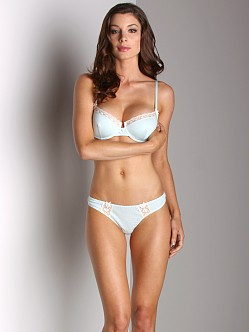 Cosabella Devon Low Rise Thong Mint Blue