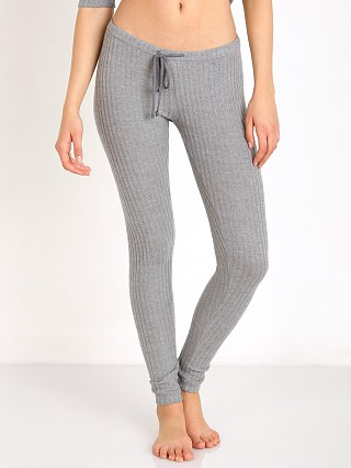 Eberjey Cozy Rib Legging Heather Grey