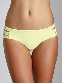 Mikoh Velzyland String Triple Loop Bikini Bottom Bamboo