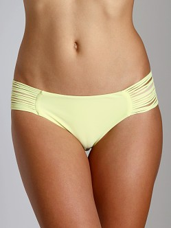 Mikoh Malibu String Side Bikini Bottom Bamboo