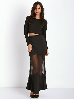 Stone Cold Fox Virginia Skirt Black