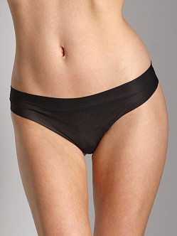 Cosabella Aire Low Rise Thong Black