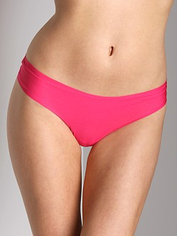 Cosabella Aire Low Rise Thong Raspberry
