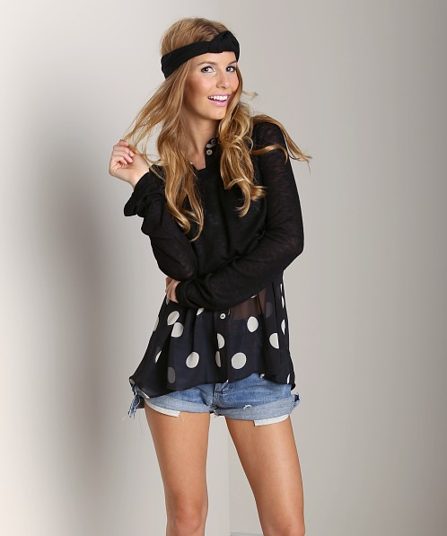 Show Me Your Mumu Cher Sweater Black Softie