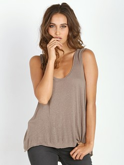 Free People Cruz Cape Tank Acorn