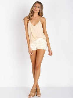 Free People Two Times the Fun Cami Peach