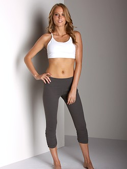 Beyond Yoga Supplex Sports Bra White