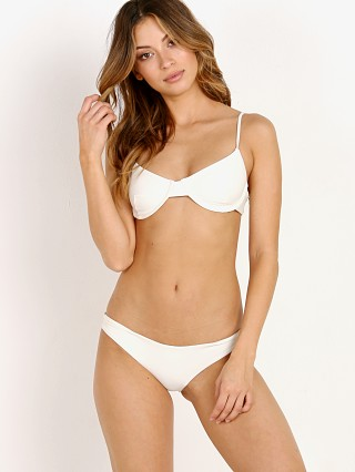Complete the look: MIKOH Lima Bikini Top Bone