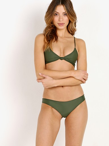 MIKOH Kaloko Bikini Top Jungle