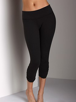 Beyond Yoga Supplex Gathered Legging Black