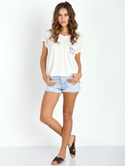 WILDFOX Dont Talk Just Kiss Romeo Pocket V Tee