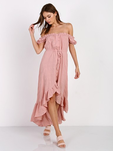 Auguste the Label Willow Day Dress Blush