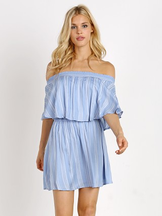 Show Me Your Mumu Casita Mini Dress Side Walk Stripe
