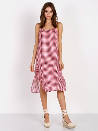 Show Me Your Mumu Shiloh Slip Dress Cherry Pie Gingham