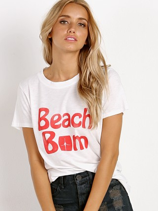 MATE the Label Beach Bum Beau Crew True White