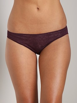 Only Hearts Jersey Lace Ruched Back Bikini Mulberry