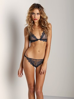Only Hearts So Fine Lace Bralettle Hunter Green