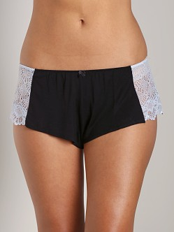 Only Hearts Venice Hipster Short Black/Celeste