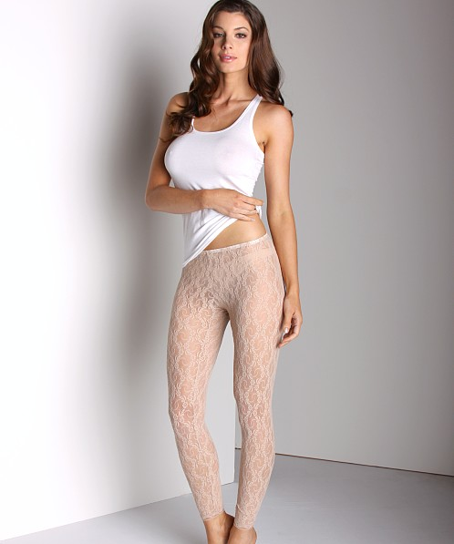 4d42e794f61ed Only Hearts Stretch Lace Leggings Nude 20245 - Free Shipping at Largo Drive