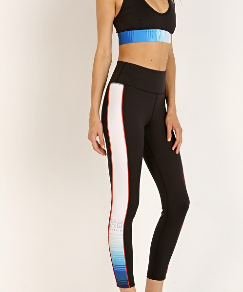 PE NATION Lineal Success Legging Black