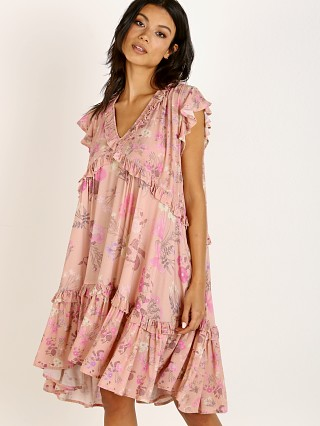 Spell & The Gypsy Wild Bloom Mini Dress Blush
