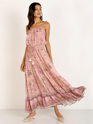 Spell & The Gypsy Wild Bloom Strappy Dress Blush